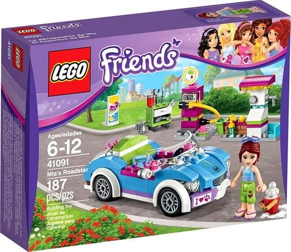 LEGO Friends 41091 Mini kabriolet - Stavebnice