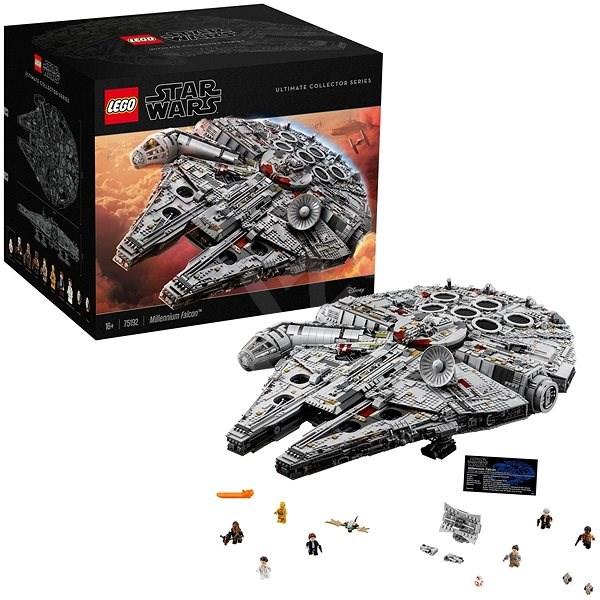 LEGO Star Wars 75192 Millennium Falcon - LEGO stavebnice