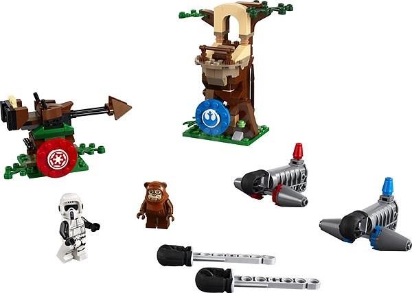 LEGO Star Wars 75238 Napadení na planetě Endor - Stavebnice