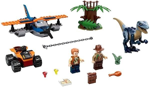 LEGO Jurassic World 75942 Velociraptor: Biplane Rescue Mission - LEGO Building Kit