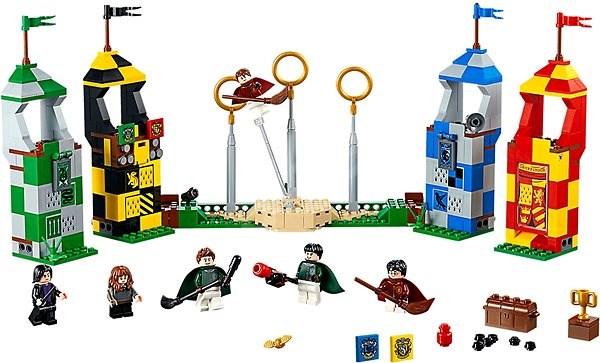 LEGO Harry Potter 75956 Famfrpálový zápas - LEGO stavebnice