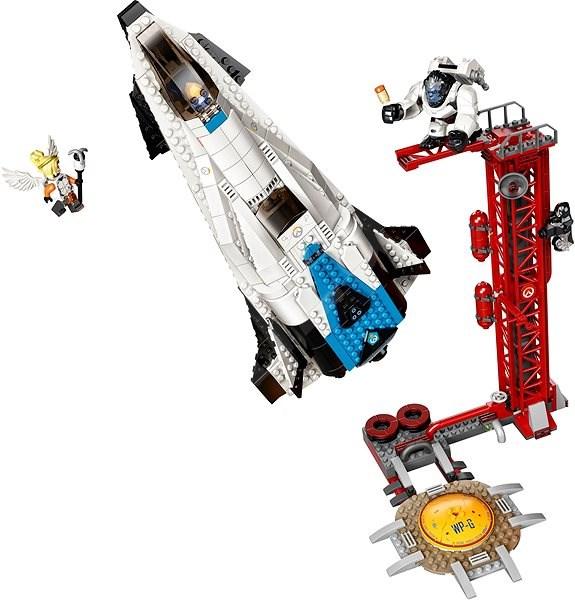 LEGO Overwatch 75975 Watchpoint: Gibraltar - LEGO stavebnice
