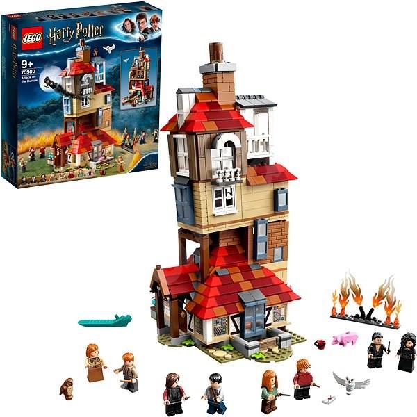 LEGO Harry Potter TM 75980 Útok na Doupě - LEGO stavebnice