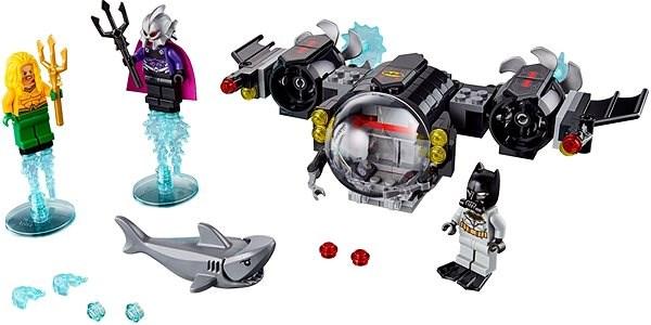 LEGO Super Heroes 76116 Batmanova ponorka a střetnutí pod vodou - Stavebnice