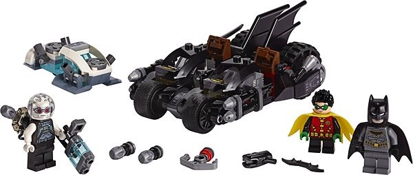 LEGO Super Heroes 76118 Mr. Freeze vs. Batman na Batmotorce - LEGO stavebnice