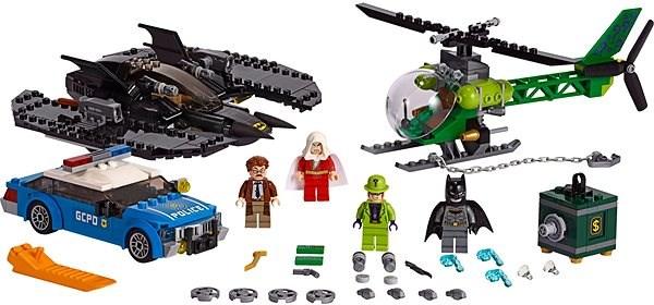 LEGO Super Heroes 76120 Batmanovo letadlo a Hádankářova krádež - LEGO stavebnice