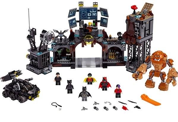 LEGO Super Heroes 76122 Clayface útočí na Batmanovu jeskyni - Stavebnice