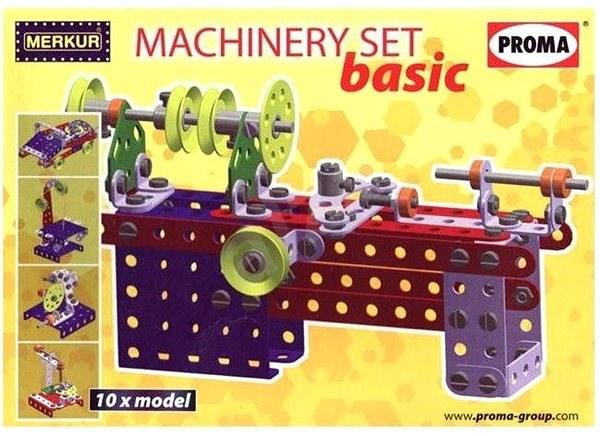 Merkur Machinery Set Basic - Stavebnice