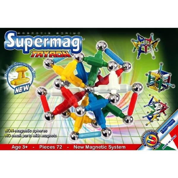 SUPERMAG - Tryron - Magnetická stavebnice