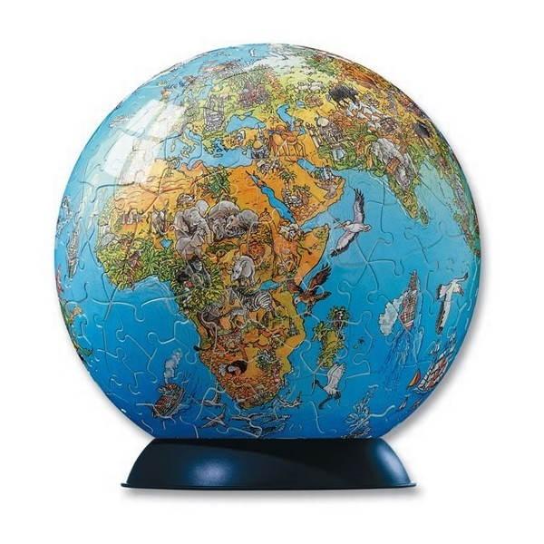 Ravensburger Puzzleball Mapa světa - Puzzle