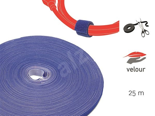 LABEL THE CABLE LTC PRO Roll 1250 Blue 25m - Organizér kabelů