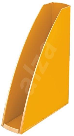 LEITZ Wow - metalická oranžová - Stojan na časopisy