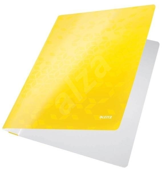 LEITZ Wow žluté - 250 listů - Desky s rychlovazačem