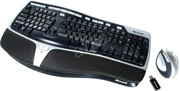 Microsoft Natural Ergonomic Desktop 7000 CZ - Set klávesnice a myši