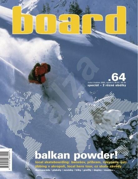 Board - Board 64 snow obálka - Elektronický časopis