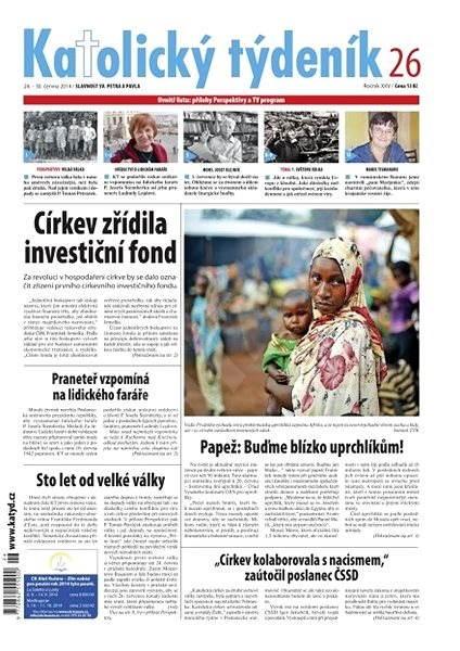 Katolický týdeník - 26/2014 - Electronic Newspaper