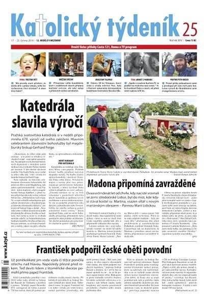 Katolický týdeník - 25/2014 - Elektronické noviny