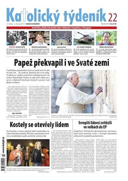 Katolický týdeník - 22/2014 - Elektronické noviny