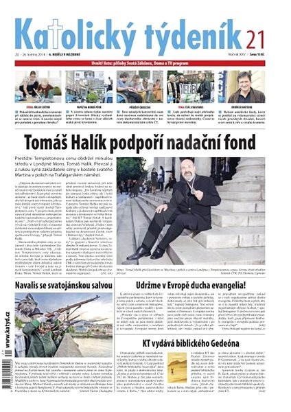 Katolický týdeník - 21/2014 - Elektronické noviny
