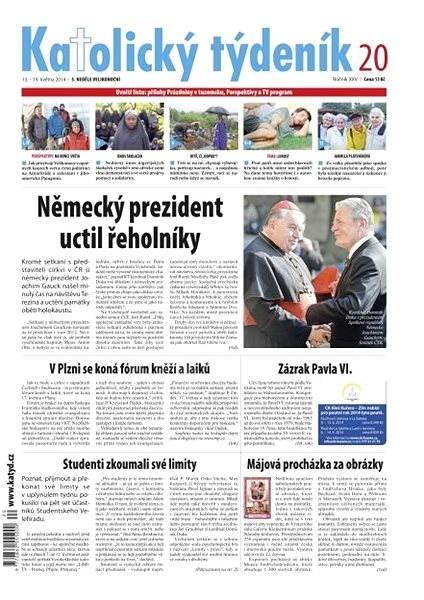 Katolický týdeník - 20/2014, 13.-19. května 2014 - Elektronické noviny