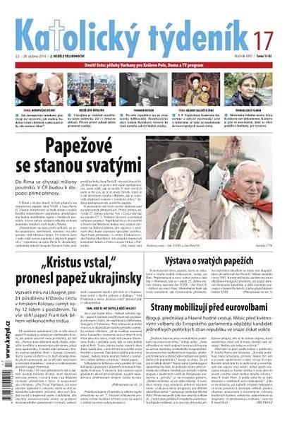 Katolický týdeník - 17/2014 - Elektronické noviny