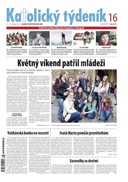Katolický týdeník - 16/2014 - Elektronické noviny