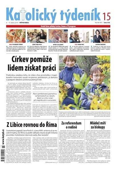 Katolický týdeník - 15/2014 - Elektronické noviny