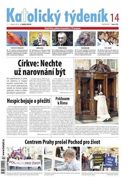 Katolický týdeník - 14/2014 - Elektronické noviny