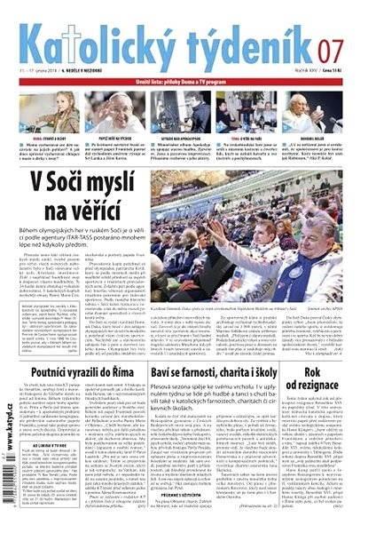 Katolický týdeník - 07/2014 - Elektronické noviny