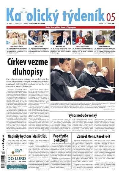 Katolický týdeník - 05/2014 - Elektronické noviny