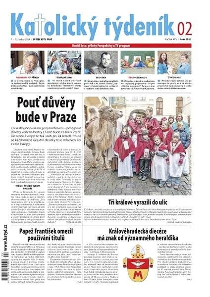 Katolický týdeník - 2/2014 - Elektronické noviny