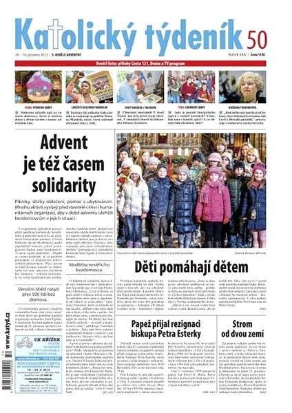Katolický týdeník - 50/2013 - Elektronické noviny