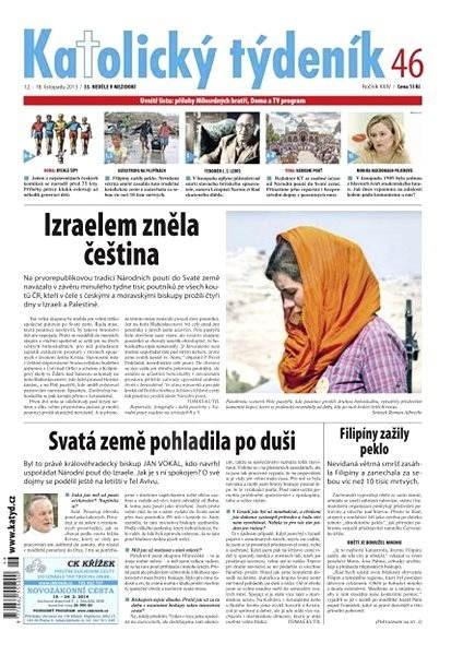 Katolický týdeník - 46/2013 - Elektronické noviny