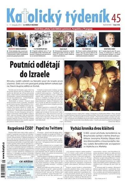 Katolický týdeník - 45/2013 - Elektronické noviny