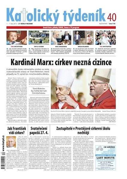 Katolický týdeník - 40/2013 - Electronic Newspaper