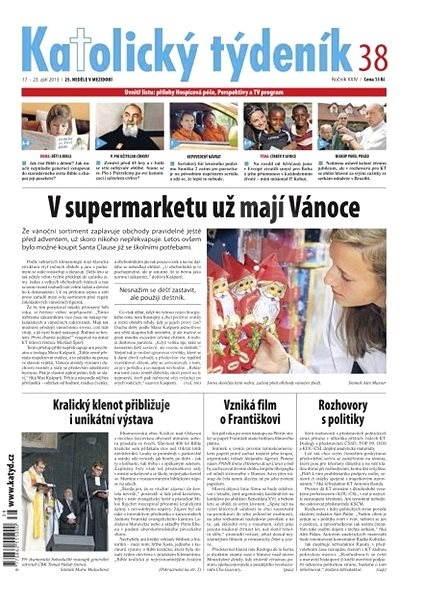 Katolický týdeník - 38/2013 - Elektronické noviny