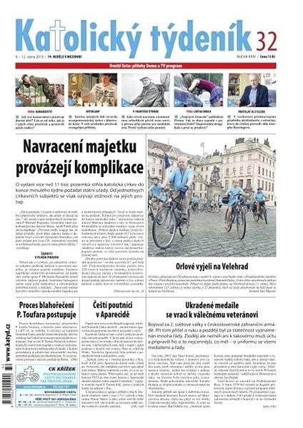 Katolický týdeník - 32/2013 - Elektronické noviny
