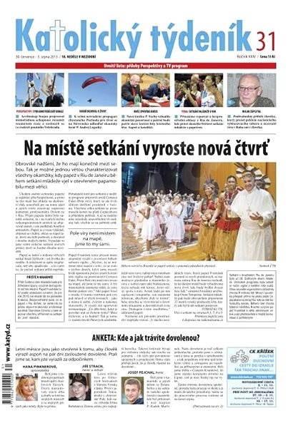 Katolický týdeník - 31/2013 - Elektronické noviny