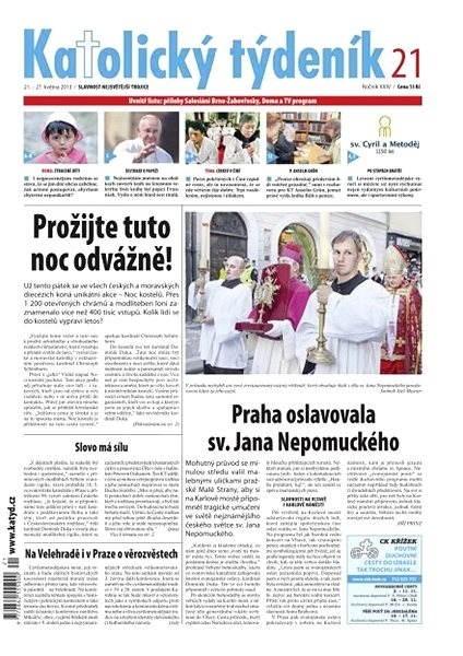 Katolický týdeník - 21/2013 - Elektronické noviny