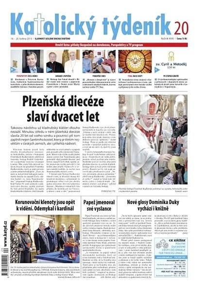 Katolický týdeník - 20/2013 - Electronic Newspaper