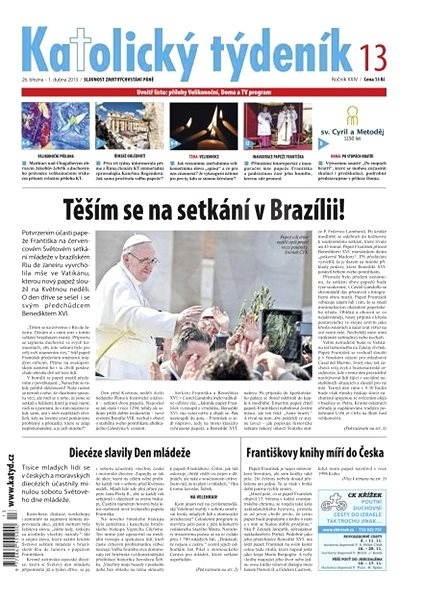 Katolický týdeník - 13/2013 - Elektronické noviny