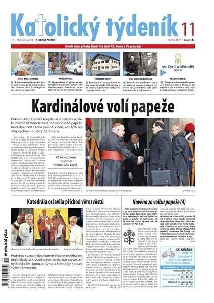 Katolický týdeník - 2013/11 - Elektronické noviny