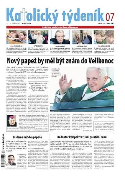 Katolický týdeník - 7/2013 - Elektronické noviny