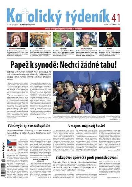 Katolický týdeník - 41/2014 - Elektronické noviny