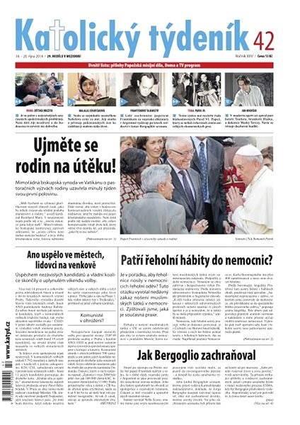 Katolický týdeník - 42/2014 - Elektronické noviny