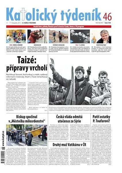 Katolický týdeník - 46/2014 - Electronic Newspaper