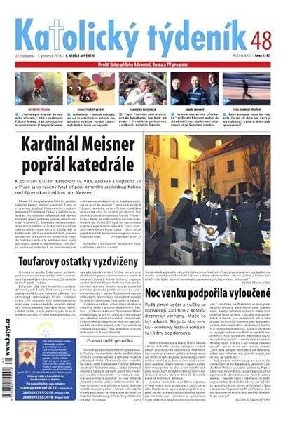 Katolický týdeník - 48/2014 - Elektronické noviny