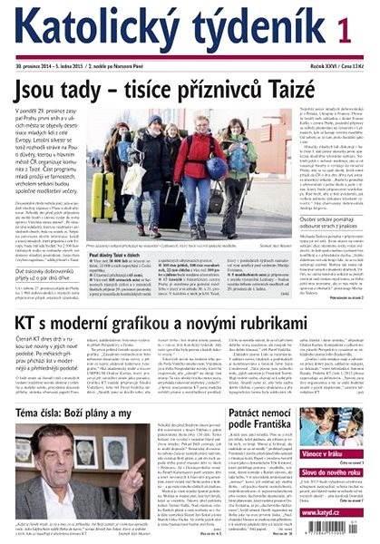 Katolický týdeník - 1/2015 - Elektronické noviny