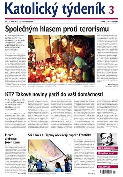 Katolický týdeník - 3/2015 - Electronic Newspaper