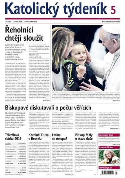 Katolický týdeník - 5/2015 - Elektronické noviny